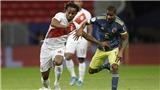 Colombia 3-2 Peru: Rượt đuổi tỷ số kịch tính, Colombia giành chiến thắng ở phút bù giờ