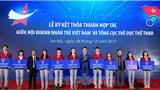Hội Doanh nhân trẻ Việt Nam hỗ trợ VĐV khởi nghiệp