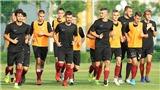 Đội bóng châu Âu tập huấn ở PVF
