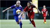 U15 nữ Iceland vô địch giải BĐ nữ U15 quốc tế 2019