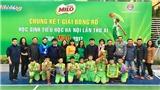 Bế mạc giải bóng rổ học sinh Tiểu  học Hà Nội năm 2017
