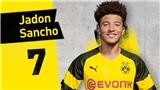 Jadon Sancho: Người mở đường cho cầu thủ trẻ Anh ra nước ngoài chơi bóng