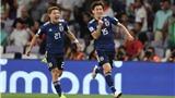 VTV6. Trực tiếp bóng đá. Trực tiếp Nhật Bản vs Qatar (21h00,1/2)