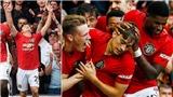 Kết quả bóng đá Ngoại hạng Anh vòng 33: MU, Chelsea và Arsenal cùng thắng