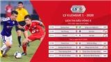 Lịch thi đấu V-League 2020 vòng 9