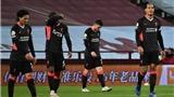 Video clip bàn thắng trận Aston Villa 7-2 Liverpool
