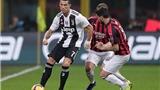 Video clip bàn thắng trận Milan vs Juventus
