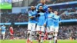 Video clip bàn thắng trận Man City 5-0 Everton