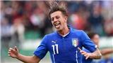 Federico Bernardeschi, cánh chim đầu đàn của U21 Italy