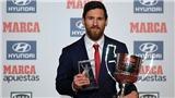 Vượt Ronaldo, Messi giành cú đúp giải thưởng cá nhân