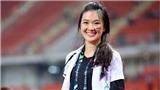 Nữ bác sĩ Thái Lan gây sốt tại AFF Cup vì đẹp tựa thiên thần