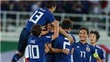 VIDEO: Sức mạnh hàng công của đội tuyển Nhật Bản ở Asian Cup
