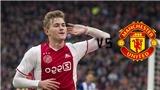 CHUYỂN NHƯỢNG MU 18/5: De Ligt không đến Barca, thích MU. Solskjaer chi 40 triệu mua sao trẻ