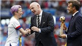 World Cup bóng đá nữ: Vua phá lưới ủng hộ CĐV la ó, chỉ trích Chủ tịch FIFA
