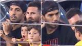 Luis Suarez choáng vì con trai Messi cổ vũ đối thủ xé lưới Barca