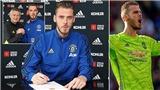 MU: De Gea tung video, gọi Old Trafford là nhà sau bản hợp đồng mới
