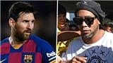 Messi phẫn nộ trước thông tin giả về Rakitic và Ronaldinho