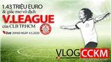 Vlog CCKM - Cận cảnh bóng đá Việt. Số 7: CLB TP.HCM sẽ vô địch V-League 2020 với đội hình 1,43 triệu euro?