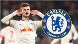 Timo Werner đến Chelsea, phí chuyển nhượng 53 triệu bảng, ký hợp đồng 5 năm