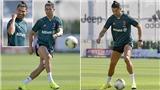 Cận cảnh đôi giày đặc biệt Ronaldo sử dụng cho ngày Serie A trở lại