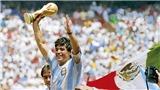 'Vì Maradona, FIFA nên tước bỏ áo số 10 trong bóng đá'