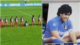 Nữ cầu thủ bị dọa giết vì từ chối tôn vinh Maradona