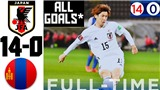 Nhật Bản thắng 14-0 ở vòng loại World Cup 2022