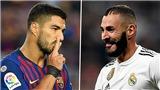 Trực tiếp bóng đá Atletico vs Real Madrid: Trận chiến của Suarez và Benzema