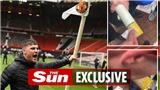 CĐV MU đã có hành động phản cảm trong vụ biểu tình ở Old Trafford
