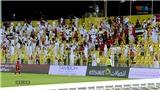 CĐV Việt Nam 'ám ảnh' với tiếng nhạc của UAE