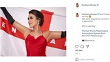 Nhan sắc hoa hậu bác sĩ cổ vũ tuyển Anh ở EURO 2021