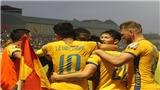 VIDEO: Bàn thắng và highlights Thanh Hóa 2- 0 SLNA, V League 2019 vòng 15
