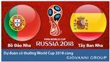 Dự đoán có thưởng World Cup 2018: Trận Bồ Đào Nha - Tây Ban Nha