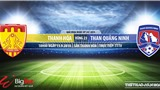 Trực tiếp bóng đá: Thanh Hóa vs Quảng Ninh (18h00 hôm nay). Soi kèo Thanh Hóa đấu với Quảng Ninh, V League 2019