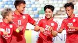 Bóng đá Việt Nam hôm nay: TPHCM tăng gía vé xem Công Phượng, Tiến Dũng