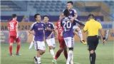 Bóng đá Việt Nam hôm nay: Hải Phòng vs Sài Gòn, Quảng Nam vs SLNA (17h). Viettel vs Hà Nội (19h15)