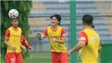 Bóng đá Việt Nam hôm nay: Tiền đạo đội tuyển Việt Nam mong không chấn thương