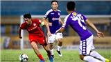 Bóng đá Việt Nam hôm nay: Hà Nội vs HAGL (19h). SLNA vs Đà Nẵng (17h). Quảng Ninh vs Hà Tĩnh (18h)