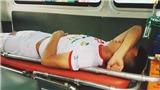Cầu thủ Viettel Văn Hào phẫu thuật thành công, kết quả chụp phim khả quan