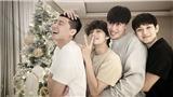 V BTS đẹp không tì vết trong ảnh ẩn ý hợp tác với bạn thân