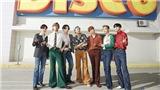 BTS ăn mặc sặc sỡ khi đi quay dự án mới, lộ vẻ ngoài mới