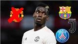 Tháng Giêng tới, Pogba sẽ chọn Barcelona, Juventus, hay PSG?
