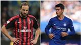 NÓNG: Chelsea và AC Milan đạt thỏa thuận trao đổi Morata và Higuain