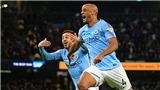 ĐIỂM NHẤN Man City 1-0 Leicester: Kompany sắm vai người hùng, Man xanh cận kề chức vô địch