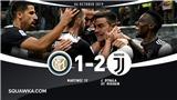 Inter Milan 1-2 Juventus: Conte nếm trái đắng đầu tiên, Juve đoạt ngôi đầu bảng