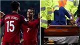 Xúc động lời chúc Ronaldo gửi tớiAndre Gomes sau chấn thương kinh hoàng