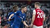 Ngoại hạng Anh vòng 24: Chelsea hòa Arsenal, MU thua sốc, Liverpool mất điểm