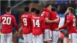 Tranmere 0-6 MU: Thày trò Solskjaer tạo mưa bàn thắng trên mặt sân ruộng cày