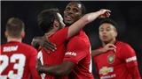 Derby County 0-3 MU: Ighalo tỏa sáng, Rooney bất lực, Quỷ đỏ thẳng tiến vào tứ kết