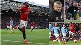 MU 2-0 Man City: Martial, McTominay kết liễu Man xanh, Quỷ đỏ trở lại Top 5